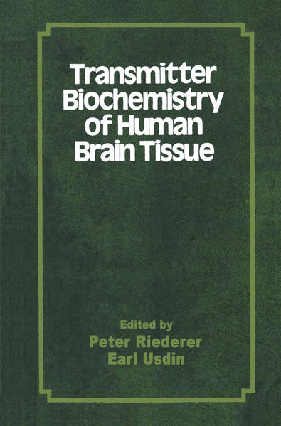 Transmitter Biochemistry of Human Brain Tissue - Coverbild