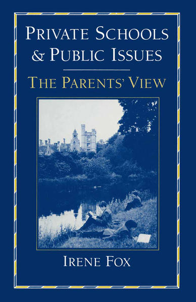 Private Schools and Public Issues - Coverbild