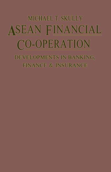 ASEAN Financial Co-Operation - Coverbild