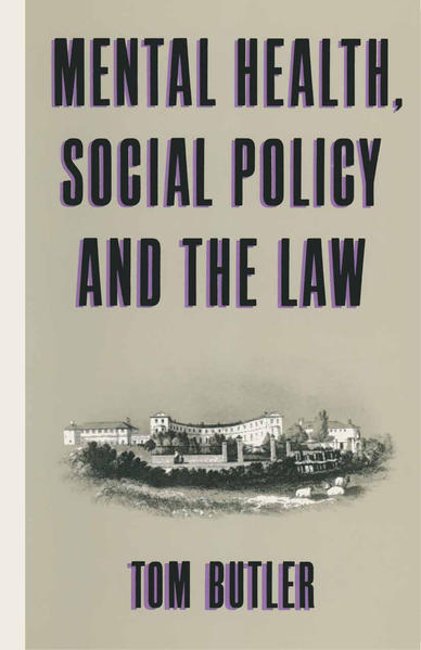 Mental Health, Social Policy and the Law - Coverbild
