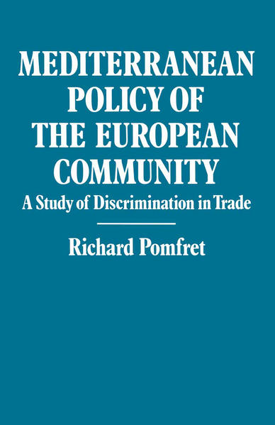 Mediterranean Policy of the European Community - Coverbild
