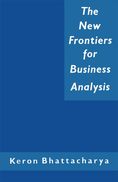 The New Frontiers for Business Analysis - Coverbild