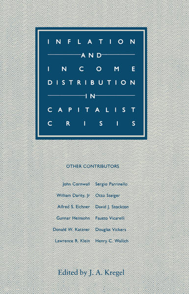 Inflation and Income Distribution in Capitalist Crisis - Coverbild