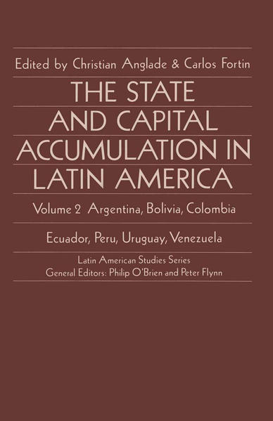 The State and Capital Accumulation in Latin America - Coverbild