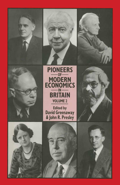 Pioneers of Modern Economics in Britain - Coverbild