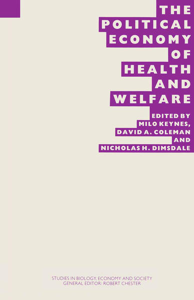 The Political Economy of Health and Welfare - Coverbild
