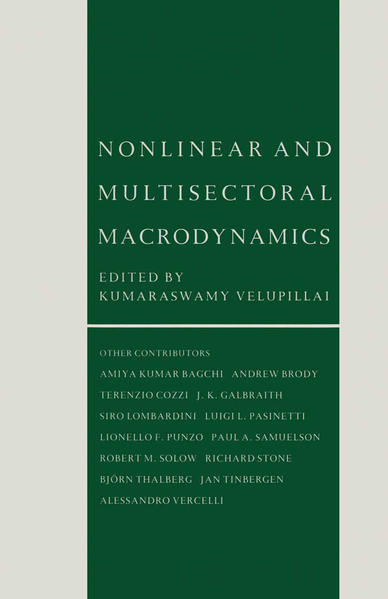 Nonlinear and Multisectoral Macrodynamics - Coverbild