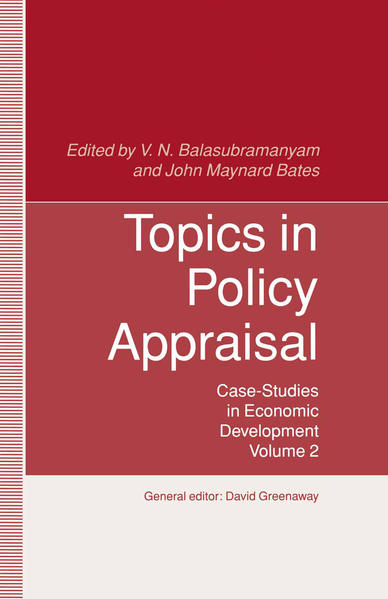 Topics in Policy Appraisal - Coverbild