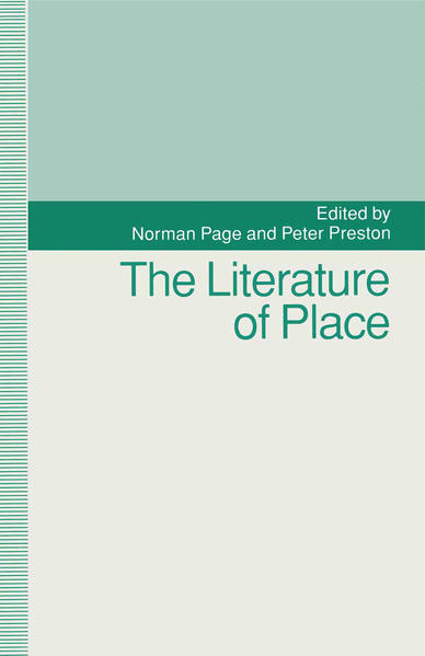 The Literature of Place - Coverbild