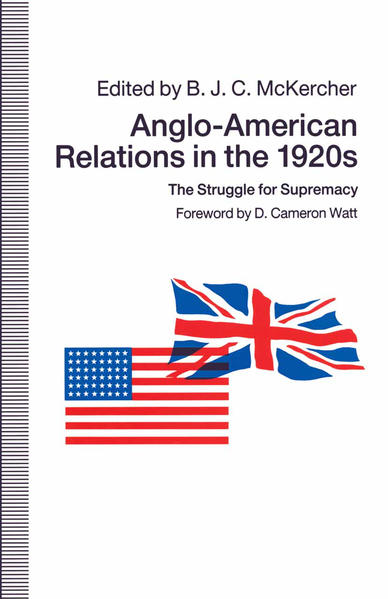 Anglo-American Relations in the 1920s - Coverbild