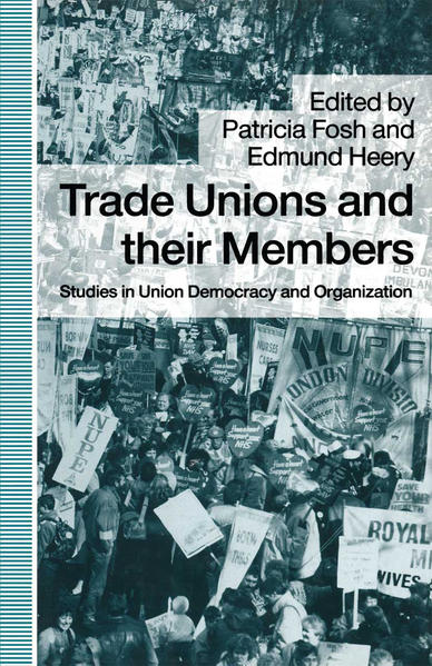 Trade Unions and their Members - Coverbild