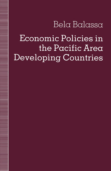 Economic Policies in the Pacific Area Developing Countries - Coverbild