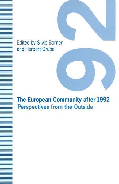 The European Community after 1992 - Coverbild