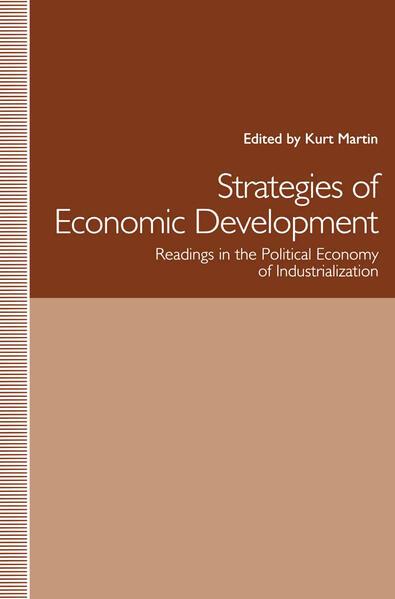 Strategies of Economic Development - Coverbild