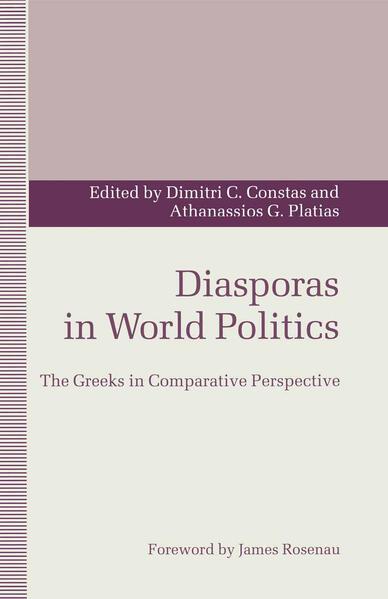 Diasporas in World Politics - Coverbild