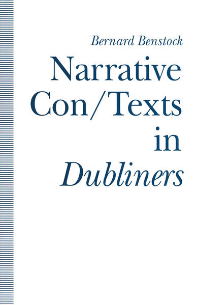 Narrative Con/Texts in Dubliners - Coverbild