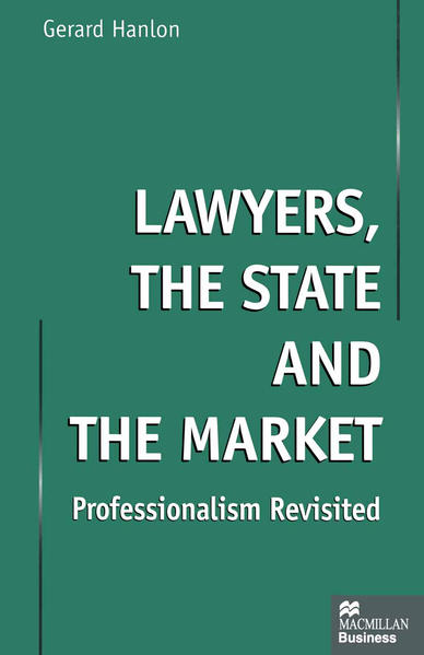 Lawyers, the State and the Market - Coverbild
