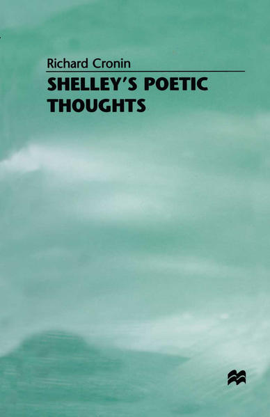 Shelley's Poetic Thoughts - Coverbild