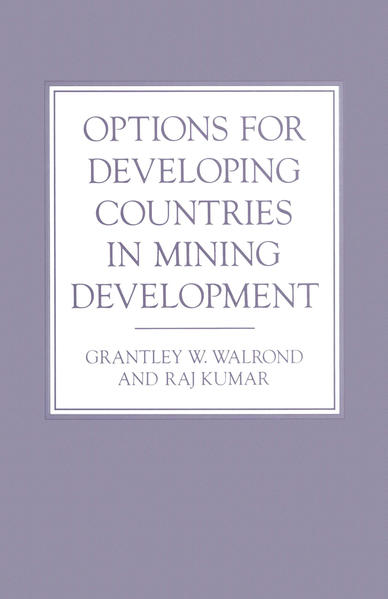 Options for Developing Countries in Mining Development - Coverbild