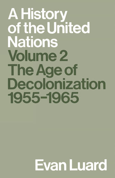 A History of the United Nations - Coverbild