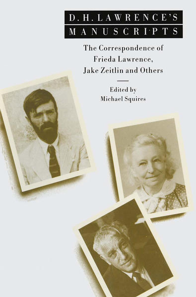 D. H. Lawrence's Manuscripts - Coverbild