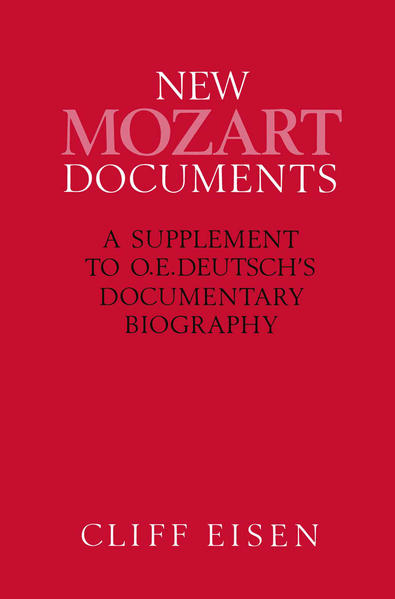 New Mozart Documents - Coverbild