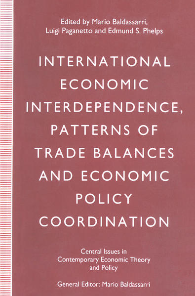 International Economic Interdependence, Patterns of Trade Balances and Economic Policy Coordination - Coverbild