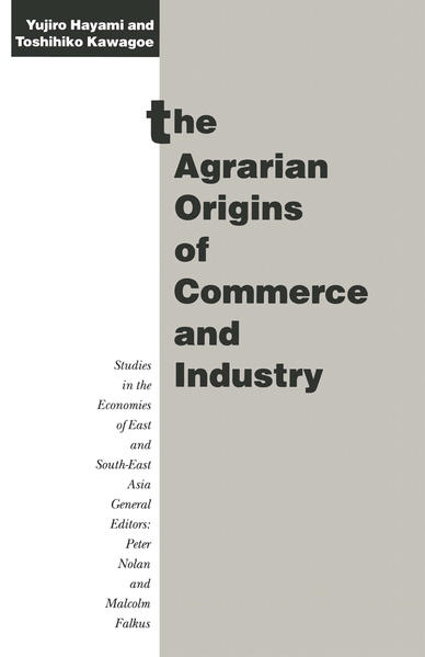 The Agrarian Origins of Commerce and Industry - Coverbild