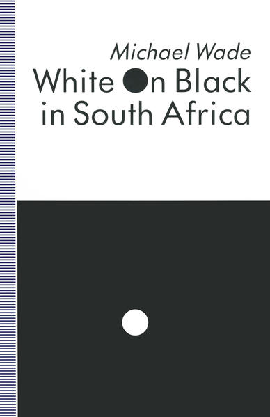 White on Black in South Africa - Coverbild