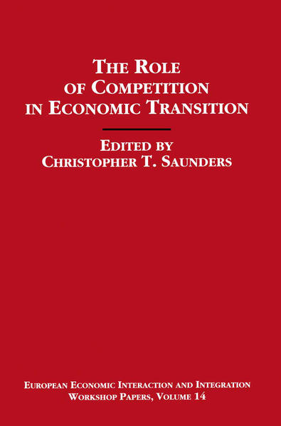 The Role of Competition in Economic Transition - Coverbild