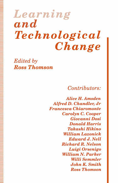 Learning and Technological Change - Coverbild