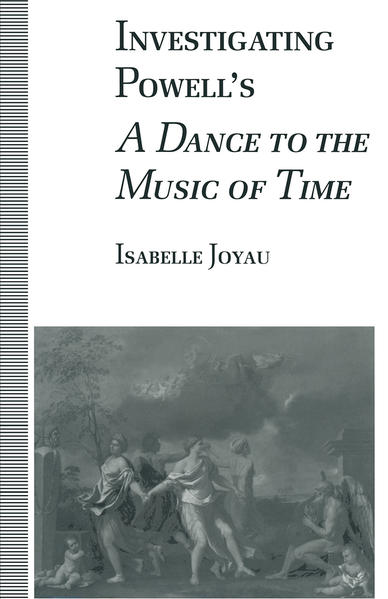 Investigating Powell's A Dance to the Music of Time - Coverbild