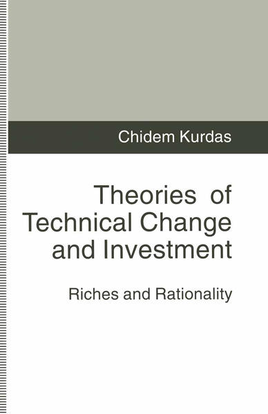 Theories of Technical Change and Investment - Coverbild