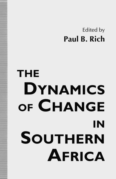 The Dynamics of Change in Southern Africa - Coverbild