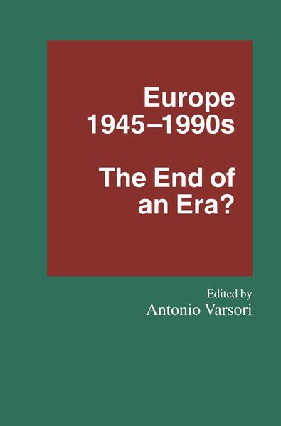 Europe 1945–1990s - Coverbild