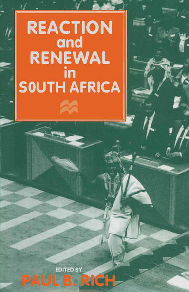Reaction and Renewal in South Africa - Coverbild
