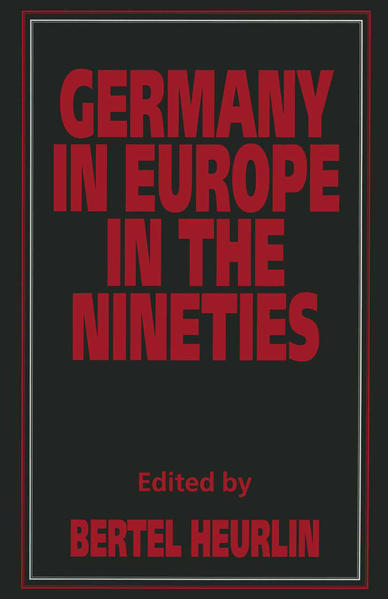 Germany in Europe in the Nineties - Coverbild