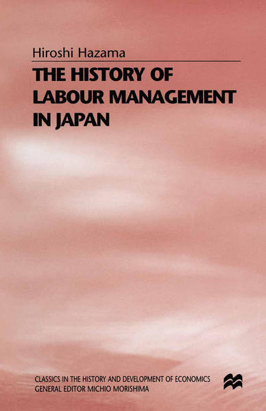 The History of Labour Management in Japan - Coverbild