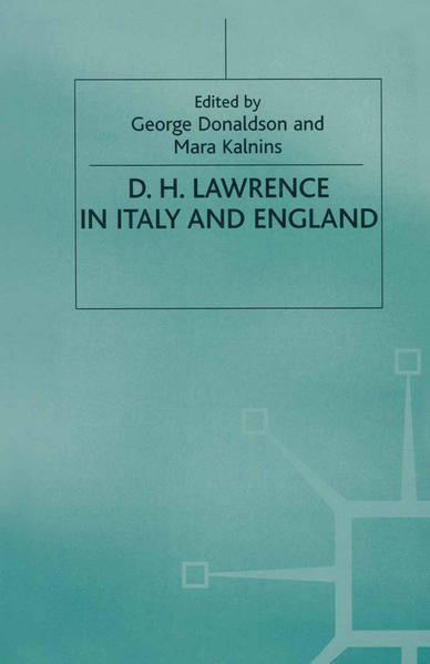 D. H. Lawrence in Italy and England - Coverbild