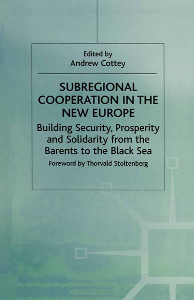Subregional Cooperation in the New Europe - Coverbild