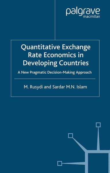Quantitative Exchange Rate Economics in Developing Countries - Coverbild