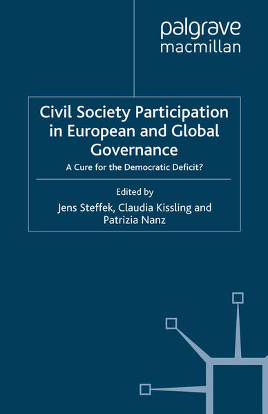 Civil Society Participation in European and Global Governance - Coverbild