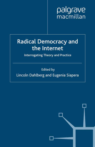 Radical Democracy and the Internet - Coverbild
