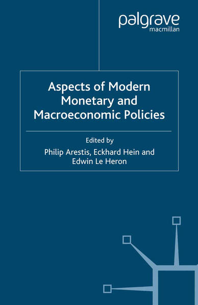 Aspects of Modern Monetary and Macroeconomic Policies - Coverbild