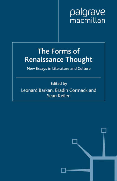 The Forms of Renaissance Thought - Coverbild