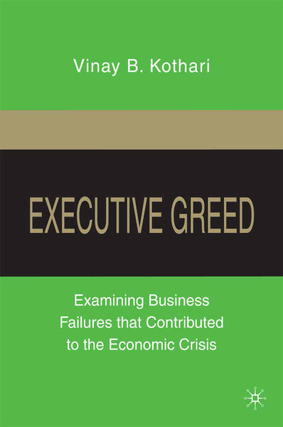 Executive Greed - Coverbild