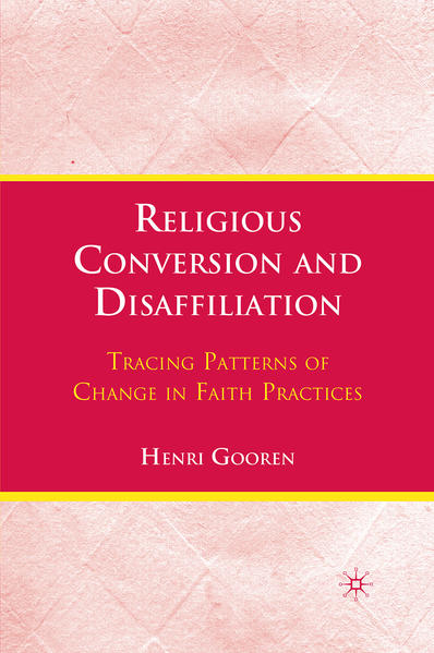 Religious Conversion and Disaffiliation - Coverbild