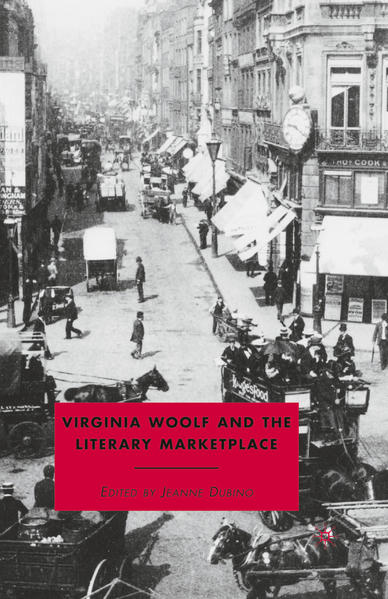 Virginia Woolf and the Literary Marketplace - Coverbild