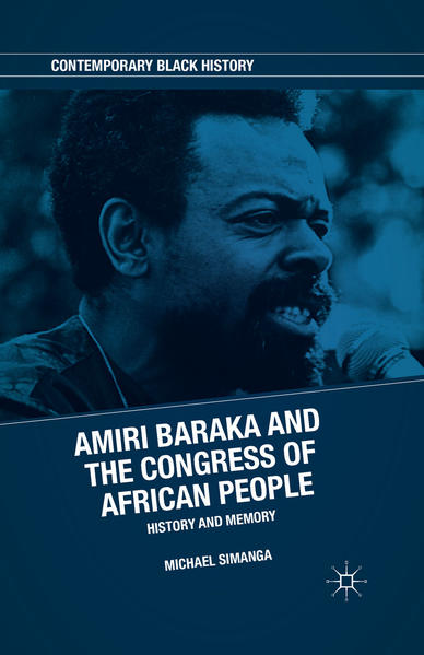 Amiri Baraka and the Congress of African People - Coverbild