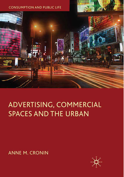 Advertising, Commercial Spaces and the Urban - Coverbild